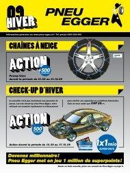 5.Stockage de pneus/roues chez Pneu Egger