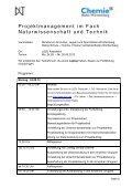 Projektmanagement im Fach Naturwissenschaft und Technik - Seite 2