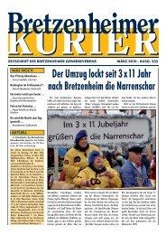 Mit 50 fängt das Leben an - Gewerbeverein Bretzenheim