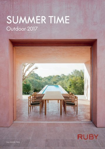 Ruby design_living Outdoor Katalog 2017