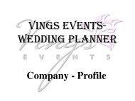 Vings Events- Wedding Planner