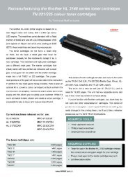 TG1 -Brother HL3140 series