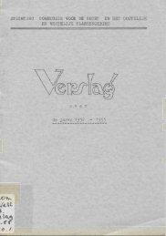 Verslag commissie Vecht en Plassengebied 1952-1955