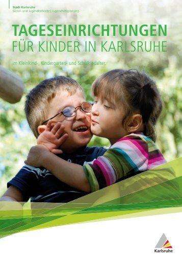 """Broschüre """"Tageseinrichtungen für Kinder"""" (PDF, 3.66 MB) - Karlsruhe"""