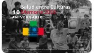 Salud entre Culturas Memoria 2016