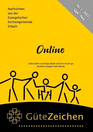 Online - Evangelische Kirchengemeinde Erbach/Odw.