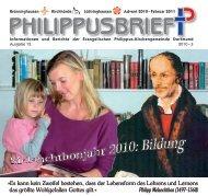 PDF 6,8 MB - Evangelische Philippus-Kirchengemeinde Dortmund