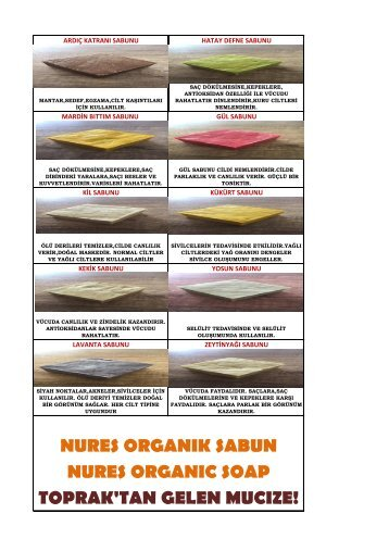 Nures Organik Katalog