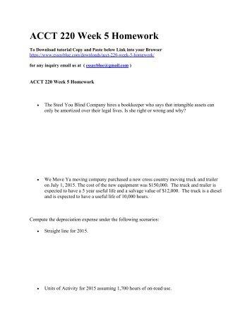 acct 550 week 1 homework Transcript of acct 550 acct/550 acct550 week 3 homework assignment  acct434 week 1 homework activity based c acct 600 acct/600 acct600 week 3.