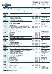 SWR Programmübersicht 1. Halbjahr 11/12 (PDF-Dokument