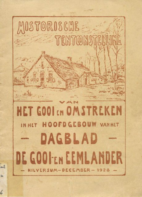 Historische Tentoonstelling Hilversum 1928