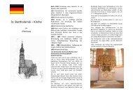 St. Bartholomäi – Kirche - Kirchgemeinde Altenburg