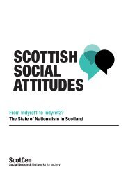 From Indyref1 to Indyref2? The State of Nationalism in Scotland
