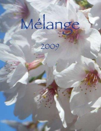 Mélange - Morristown-Beard School