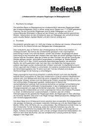"""""""Urheberrechtlich relevante Regelungen  im Bildungsbereich"""" 1 ..."""