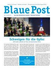 Blaue Post Nr.3 - Dezember 2015