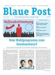 Blaue Post Nr.5 - Juli 2016