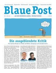 Blaue Post Nr.4 - April 2016