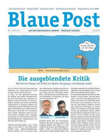 Blaue Post Nr.4 - April 2016