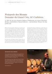 Weinperle des Monats: Domaine du Grand Crès, AC Corbières