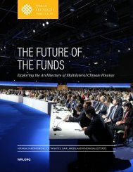 THE FUTURE OF THE FUNDS