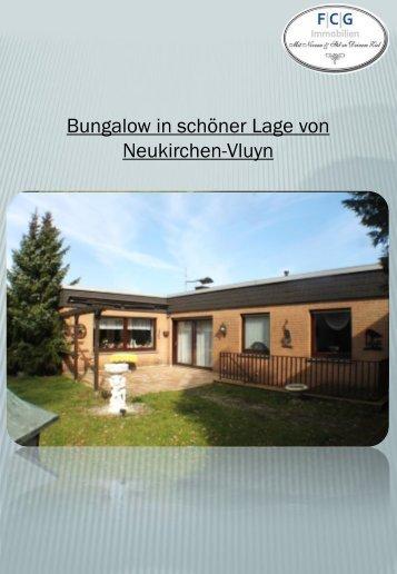Bungalow in schöner Lage von Neukirchen-Vluyn