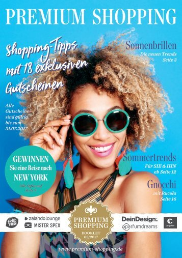 Premium Shopping Booklet Q2/2017