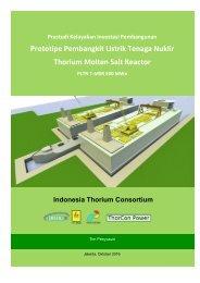 Prototipe Pembangkit Listrik Tenaga Nuklir Thorium Molten Salt Reactor