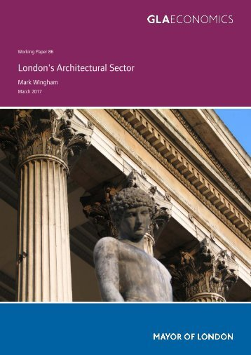 London's Architectural Sector