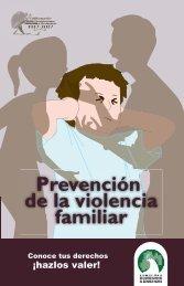 de la violencia familiar