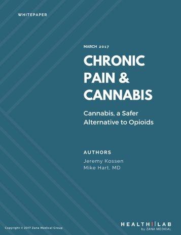 CHRONIC PAIN & CANNABIS