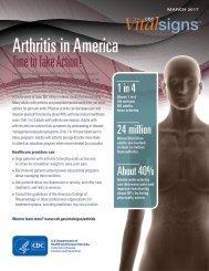 Arthritis in America