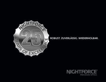 Nightforce Katalog 2017