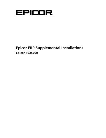 Epicor10_SupplementalInstall_100700
