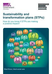 Sustainability and transformation plans (STPs)