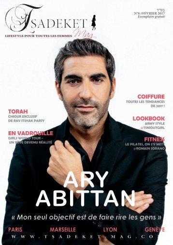TSADEKET MAG #9 - Ary Abittan