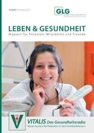 GLG Magazin 01/2012 - GLG Gesellschaft für Leben und ...