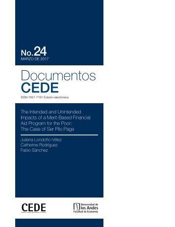 Documentos CEDE