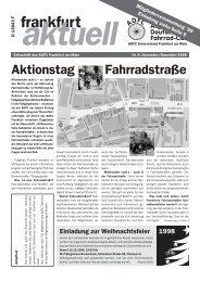 ginnheimer schöne aussicht - ADFC Frankfurt