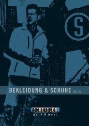 thermo- regenbekleidung - Scheibler work & wear