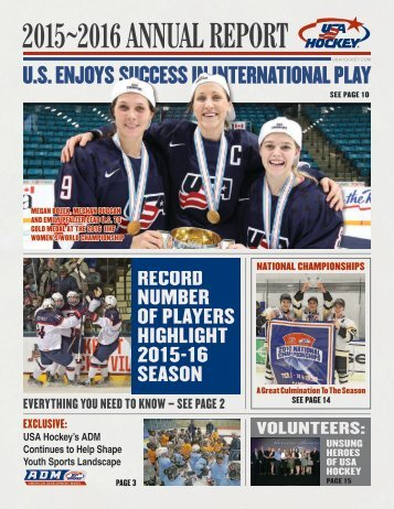 2015~2016 ANNUAL REPORT