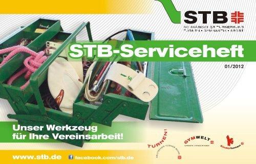 STB-Serviceheft 2012 - Schwäbischer Turnerbund