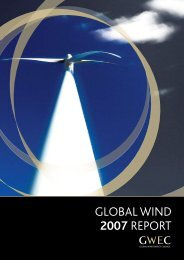 GLOBAL WIND 2007 REPORT - Global Wind Energy Council