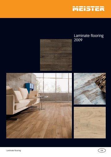 Laminate flooring 2009