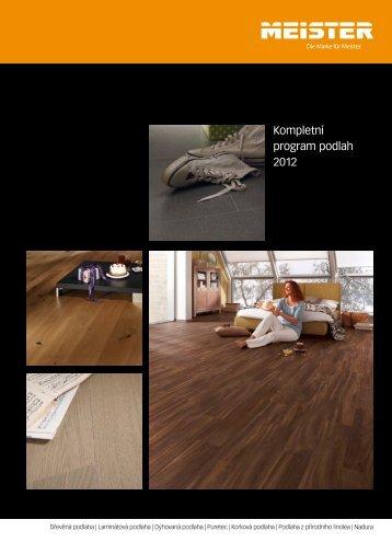 Kompletní program podlah 2012 - Podlahy Meister
