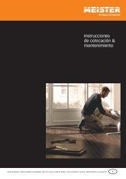 Instrucciones de colocación & mantenimiento - Exclusivas MV