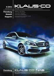Ausgabe II-2012 - Klaus GmbH & Co. KG
