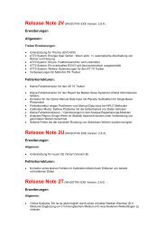Release Note 2V - Sotax