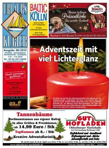 Für Kinder - Abgabe Nikolausstiefel 6. Dezember - Urlaubs-Kurier