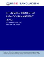 integrated protected area co-management (ipac) - part - usaid